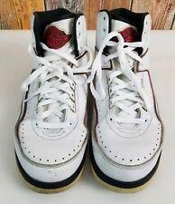 the latest e335a e14da 2010 Nike Air Jordan 2 II Chicago Retro Weiß Blk-Varsity Rot 395709-