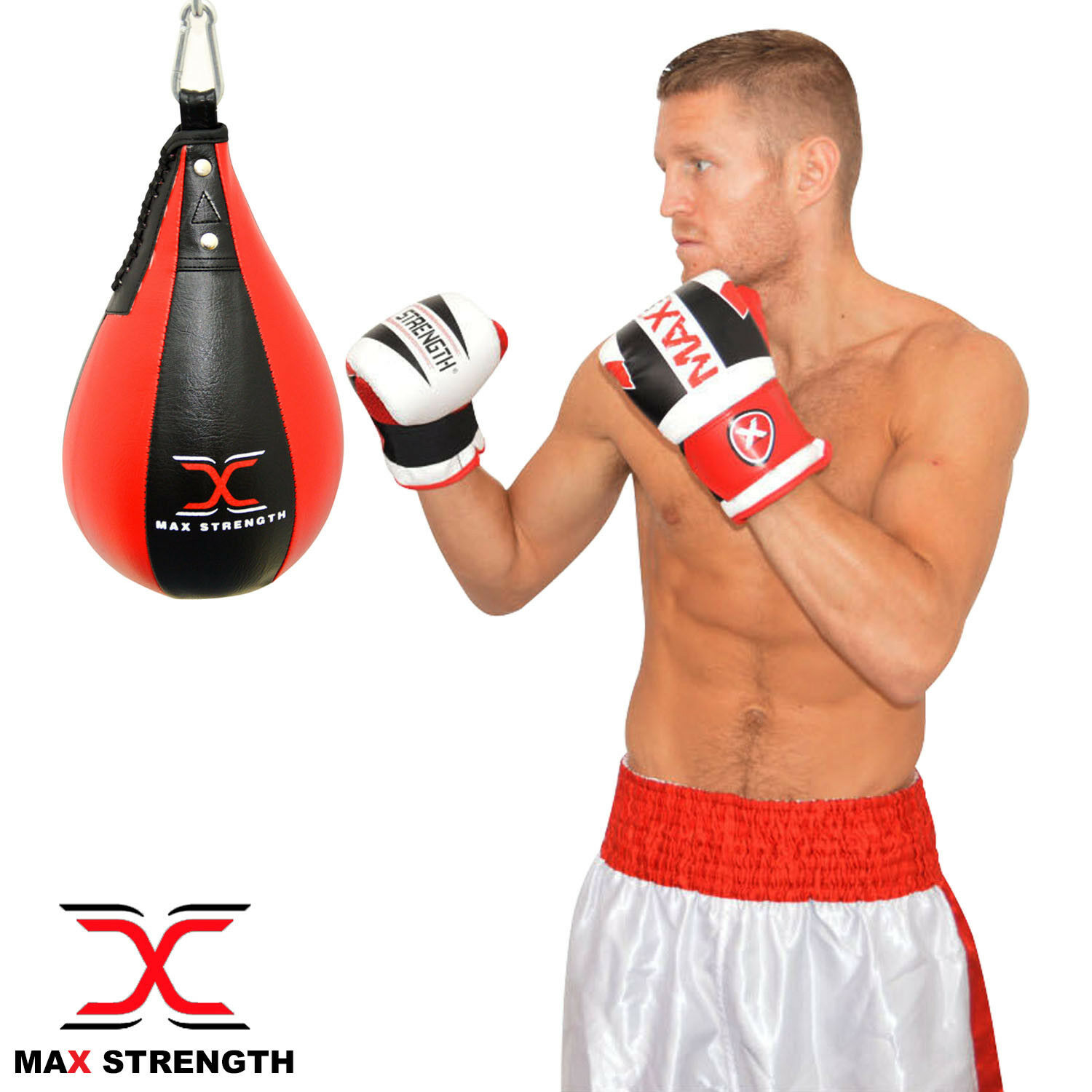 MAX STRENGTH scatolae Pera Forma Speed Btutti scatolae MMA Borsa palestra FITNESS TRAINING