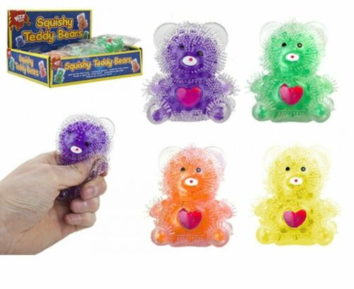 CHRISTMAS KIDS  GEL BEAD BALLS SQUISHY Squeeze Stress Relief Animal Toy  Gift UK