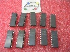 Assorted Signetics Ic Ttl Grey Plastic 1972 Dates Nos Qty 10