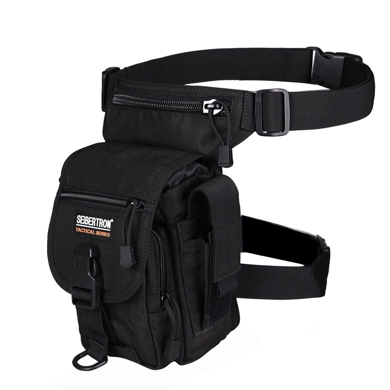 New Seibertron riding leg bag work leg pouch WATERPROOF Thigh bag cool military