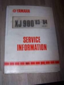 4p Supplement Manuel Atelier Service Information Yamaha Moto Xj900 Xj 900