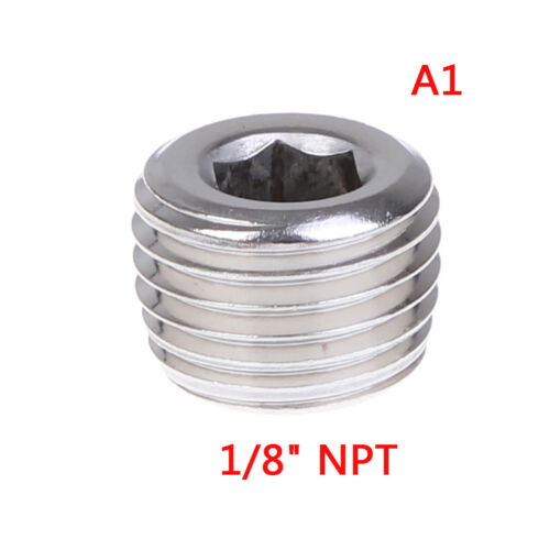 Npt Male Ss304 Countersunk End Plug Hex Socket Pipe Fittings KW