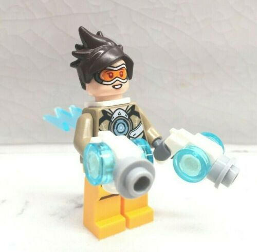 LEGO Overwatch Tracer Minifigure 75970 Mini Fig New /& Genuine!