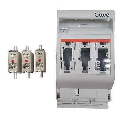 160 A fusible sectionneur 48 V off grid solar inverter Batterie de fusibles /& DC Isolateur