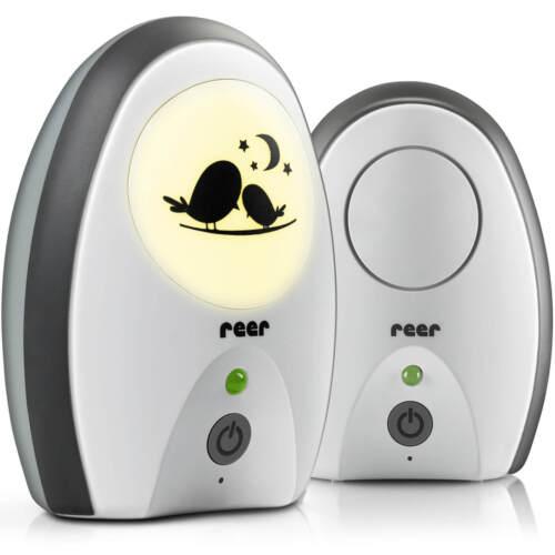 Reer Rigi Digital Babyphone 50070 mit Nachtlicht Gürtelclip Vibrationsalarm NEU