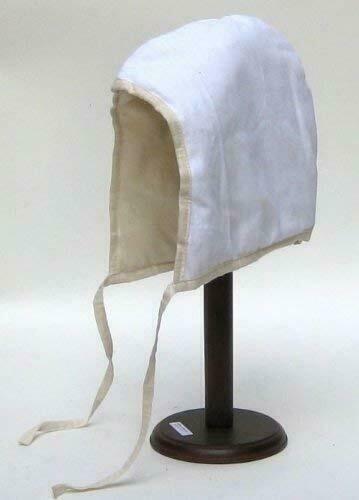 Medieval Renaissance Cotton Padded Coif Arming Cap White