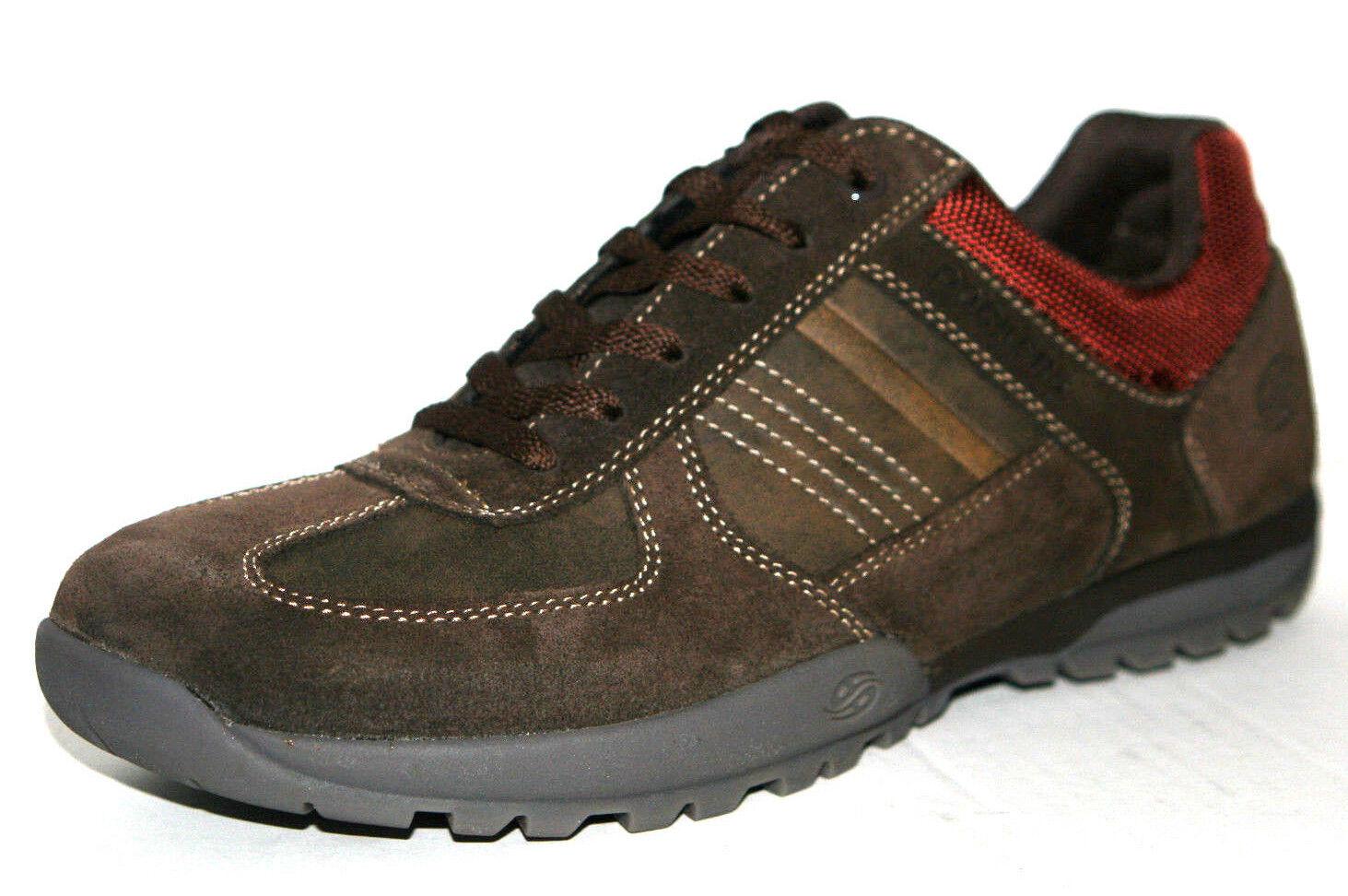 Dockers Scarpe Uomo Scarpe basse con lacci scarpe casual marrone suede