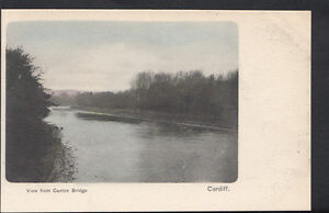 Wales-Postcard-View-From-Canton-Bridge-Cardiff-RS4075