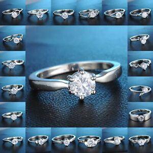 Fashion-Women-Engagement-Wedding-Ring-Crystal-Rhinestone-CZ-Rings-Jewellery-Gift