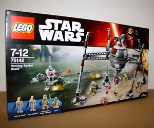 LEGO-STAR-WARS-75142-Homing-Spider-Droid-Neu-amp-OVP