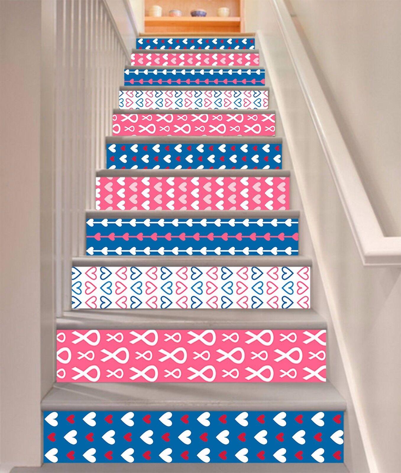 3D Farbe 49 Stair Risers Dekoration Fototapete Vinyl Aufkleber Tapete DE Lemon