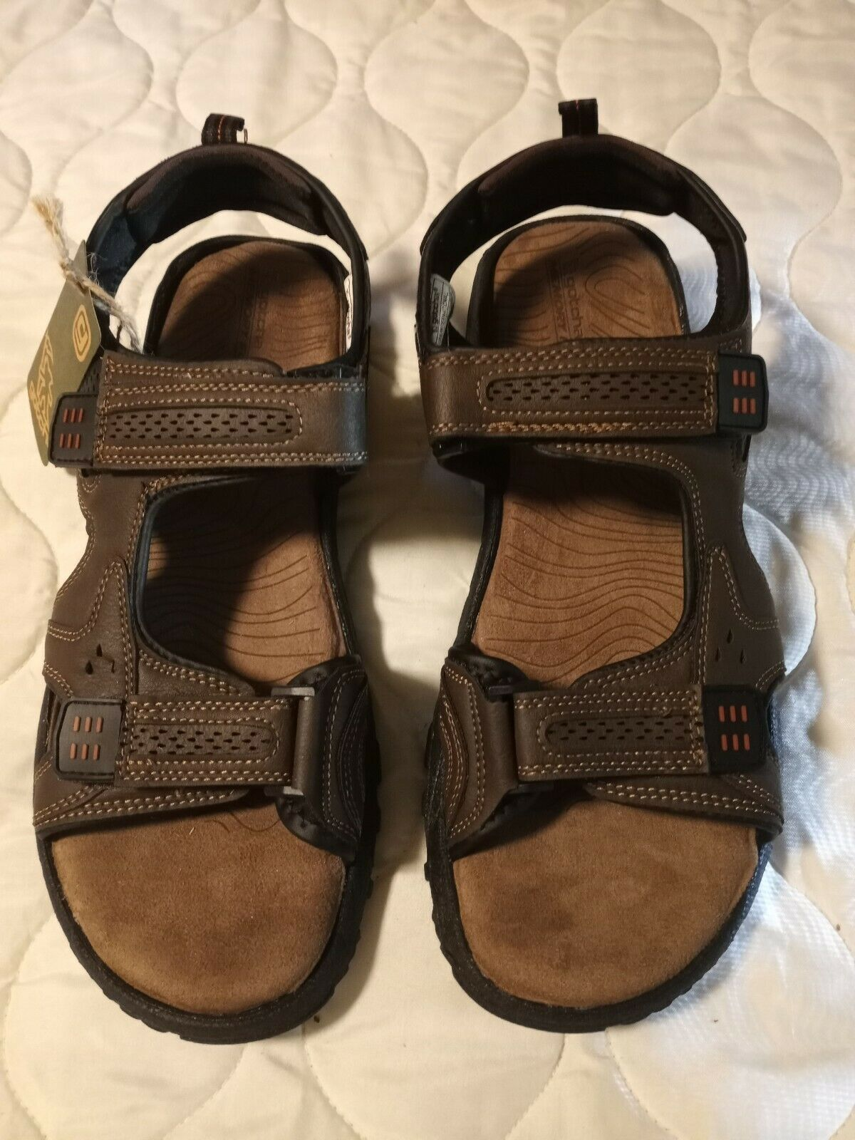 GOTCHA Quest SIZE 12 SANDALS Brown New in Box