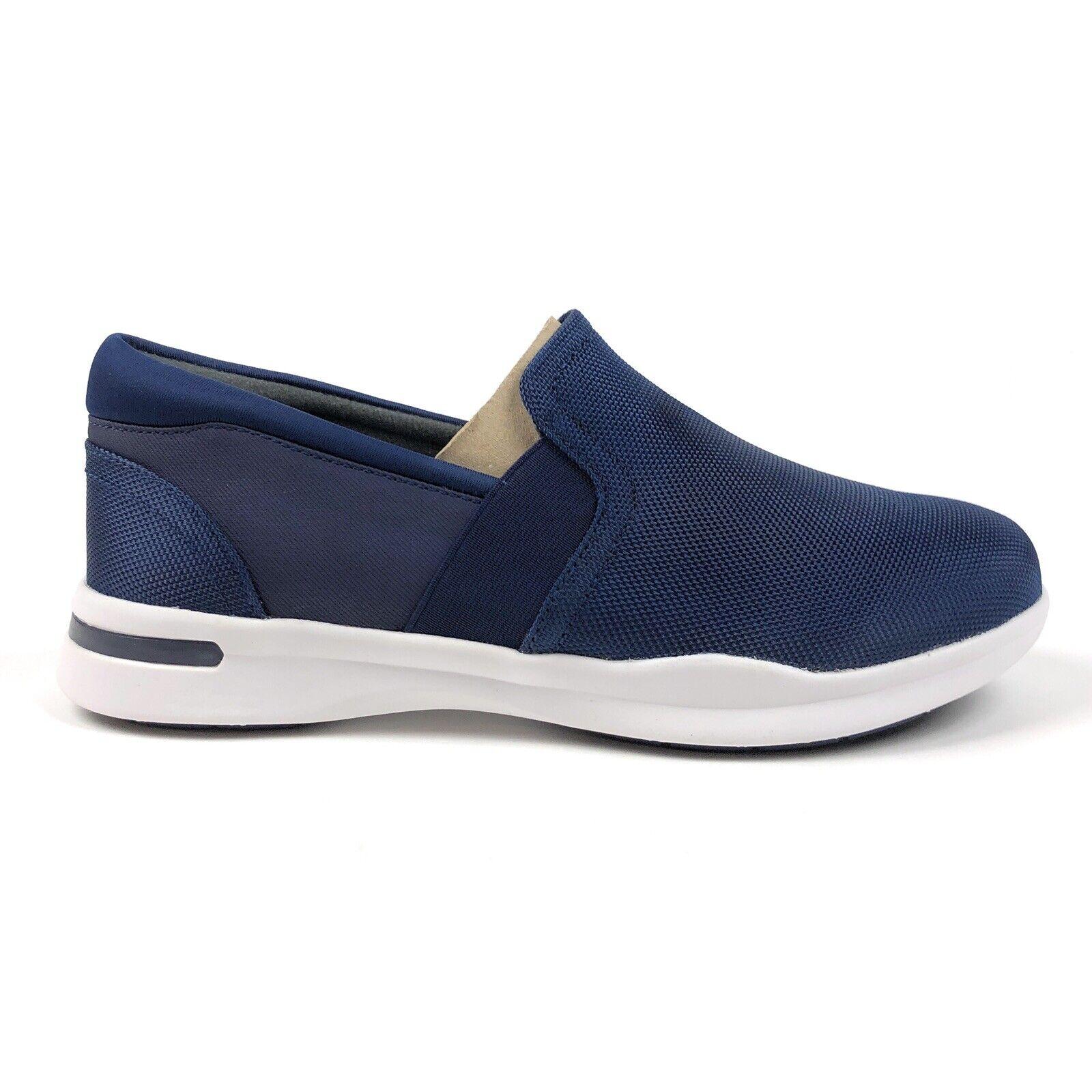 Softwalk Greys Anatomy Vantage Womens 8.5 Blue Slip On Loafers Shoes G1600-427