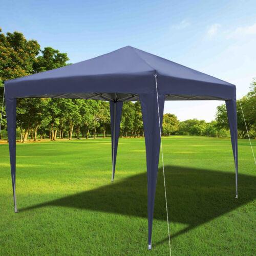 3x3m Waterproof Outdoor Sun Shade Garden Gazebo Party Tent Canopy /& Steel Frame