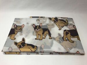 Image Is Loading French Bulldog Shower Curtain Frenchie See Through 70