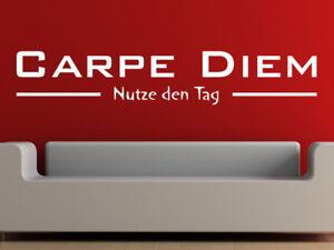 S086-XXL-aufkleber-034-CARPE-DIEM-034-Nutze-den-Tag-Wohnzimmer-Wandtattoo