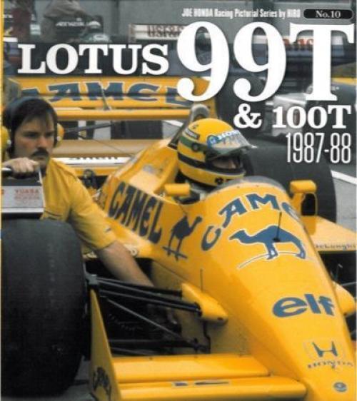 Mfh Libro No10 Lotus 99t&100t 1987-1988 Joe Honda Treasured Foto