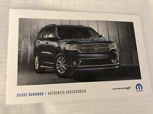 Dodge Durango Accessories >> Details About 2019 Dodge Durango Accessories 14 Page Original Sales Brochure