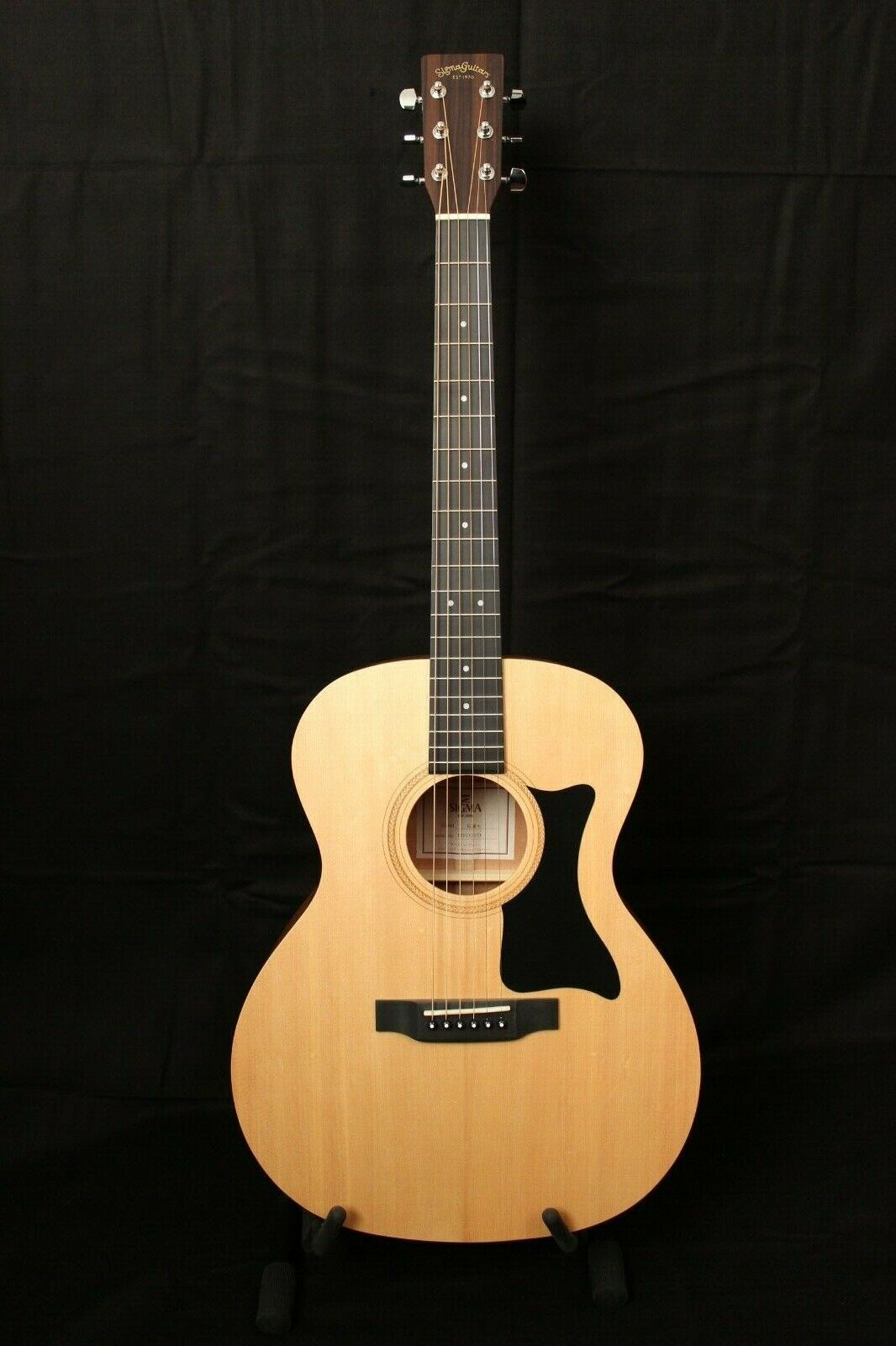 Sigma Guitar Guitar GM Solid Top & B&z Mahogany New   New