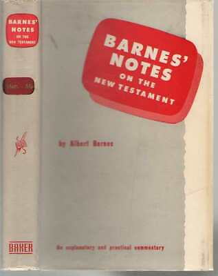 Barnes' Notes on the New Testament: Matthew and Mark by ...