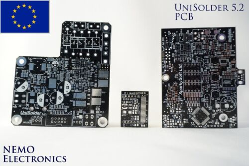 UniSolder 5.2 with Touch Sensor DIY soldering station PCB for HAKKO//JCB//ERSA EU
