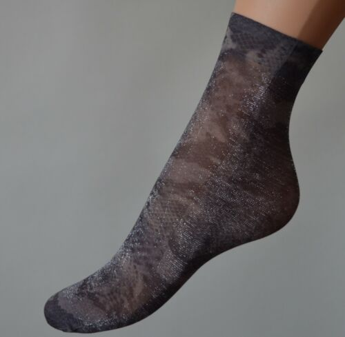 2x Pair Woman Lace Ankle High Pop Socks Sheer Durable  Everyday Anklets