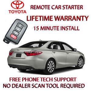 12 13 14 15 16 17 Toyota Camry Remote Starter Easy Install Ebay