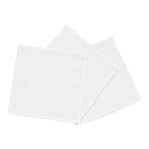 Alvi Mullwaschlappen weiß 3 Stück 20x20 cm