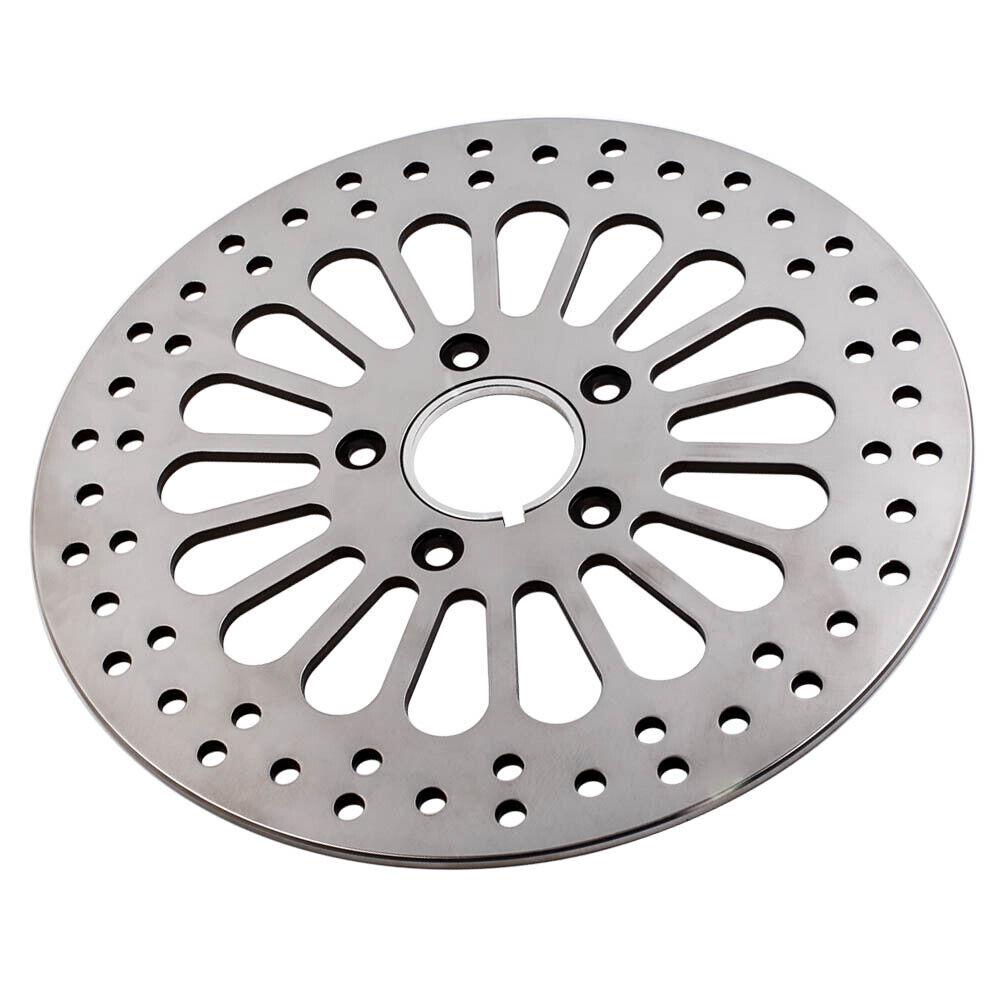 11.5  Stainless Steel Super Spoke Front Brake Rotor Rotors Disk Fit Harley 84-13