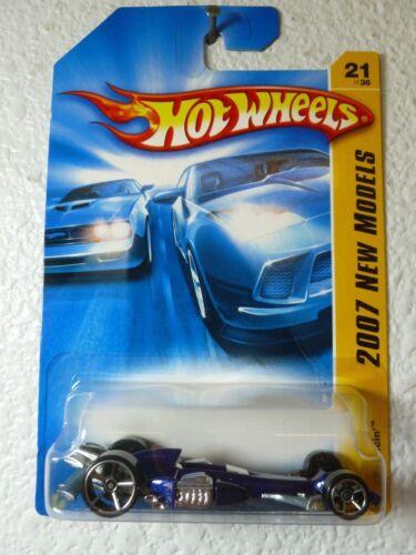 MF Blue Variation 2007 New Models Hot Wheels NITRO SCORCHER #21