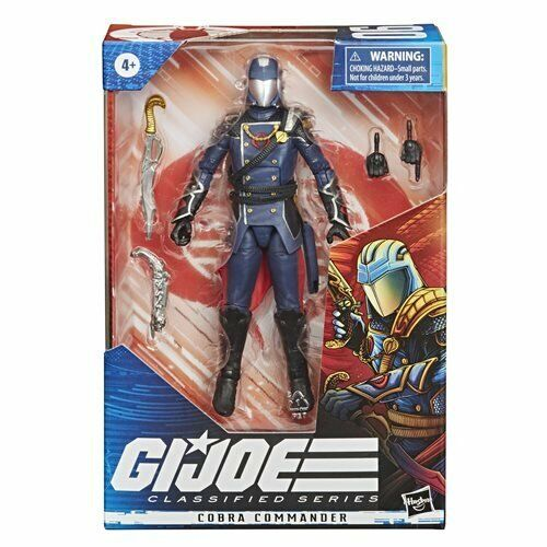 IN STOCK NOW! G.I. Joe Classified Series 6-Inch Cobra Commander AF BY HASBRO MIB