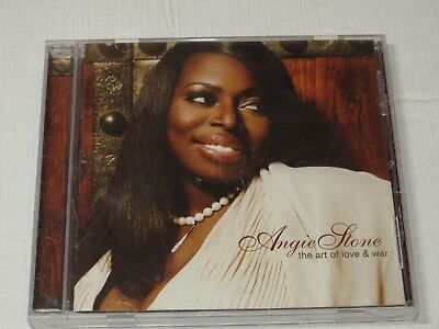 The Art Of Love War By Angie Stone Cd 2007 Stax Concord Music Group Sit Down 888072301467 Ebay