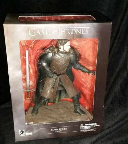 BRAND NEW IN BOX GAME OF THRONES FIGURE COLLECTABLE GIFT ROBB STARK FIGURE