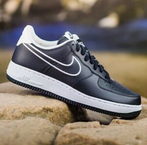pretty nice d82aa d1ca0 Image is loading Nike-Air-Force-1-07-Mens-Trainers-Multiple-