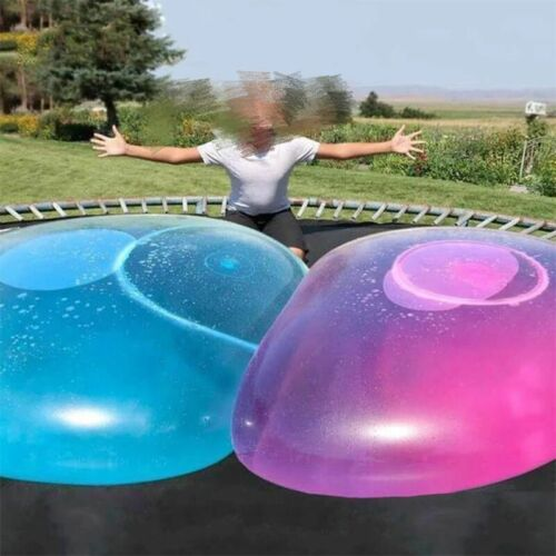 Super Soft 70CM Wubble Bubble Ball Stretch Sports kids Play Firm Transparent
