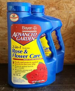 Bayer Advanced Garden 2 In 1 Systemic Rose Flower Care 12 18 6 Jug 5 Lbs 687073026108 Ebay