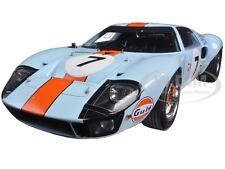 FORD GT 40 GULF #7 3RD LE MANS 1969 D. HOBBS- M. HAILWOOD 1/18 BY SPARK 18S128