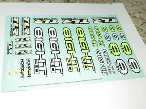 TLR04000 TLR LOSI 8IGHT 3.0 BUGGY NEW DECALS