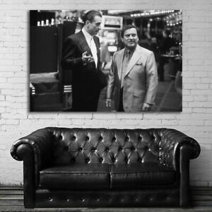 Movie Gangster Mafia Art Poster and Canvas