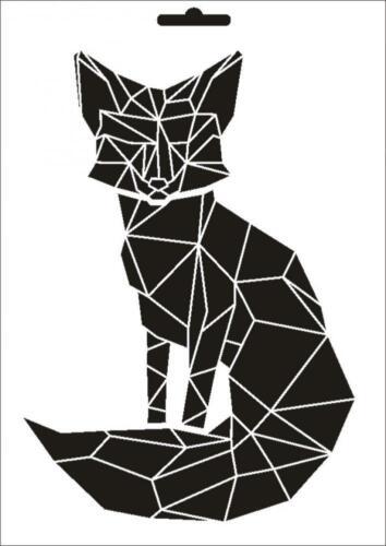 Wandschablone Maler T-shirt Schablone W-016 Vogel ~ UMR Design