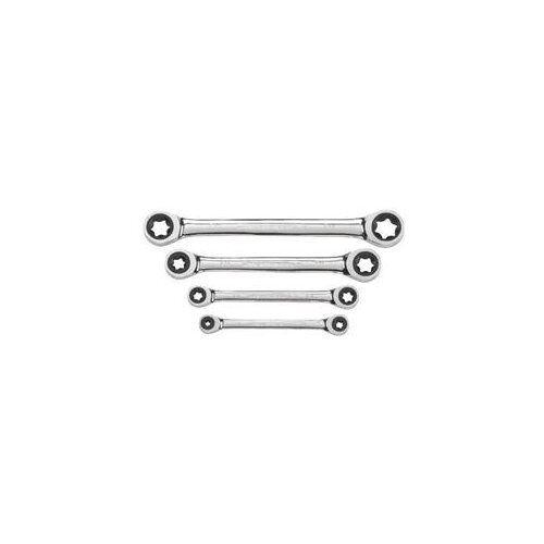 E-TORX Double Boîte à Cliquet Clé Set Torx eht9224 Gearwrench 4 pc