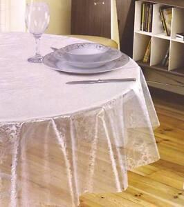 Das Bild Wird Geladen Meterware Tischdecke Wachstuch Abwaschbar Transparent Eckig Rund Glasklar