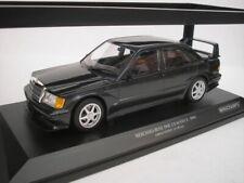 1990 MERCEDES 190E 2.5–16 EVO 2 BLUE-BLACK 1//18 DIECAST CAR MINICHAMPS 155036100