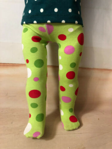 """Heavenly Selection! Choice of CHRISTMAS TIGHTS for 18/"""" American Girl Doll"""