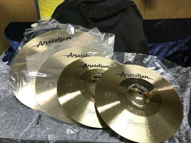 ANATOLIAN Diamond  Cymbalset 20   16  14 + Cymbalbag aus ISTANBUL - NEU