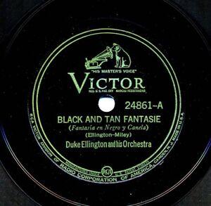 DUKE-ELLINGTON-on-Victor-24861-Black-and-Tan-Fantasie-Creole-Love-Call