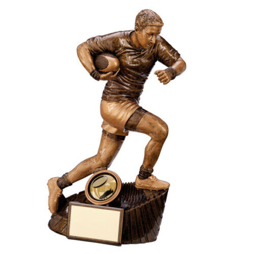 Raider Rugby Trophy Award FREE Engraving 4 Sizes