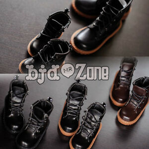 New-1-3-1-4-SD17-Uncle-SD-MSD-BJD-Doll-Shoes-3-styles-Handsome-Black-Martin-boot