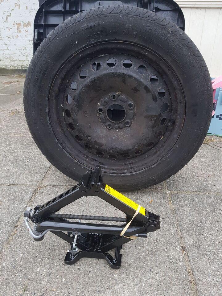 anden dæktype, Continental, fælge med dæk
